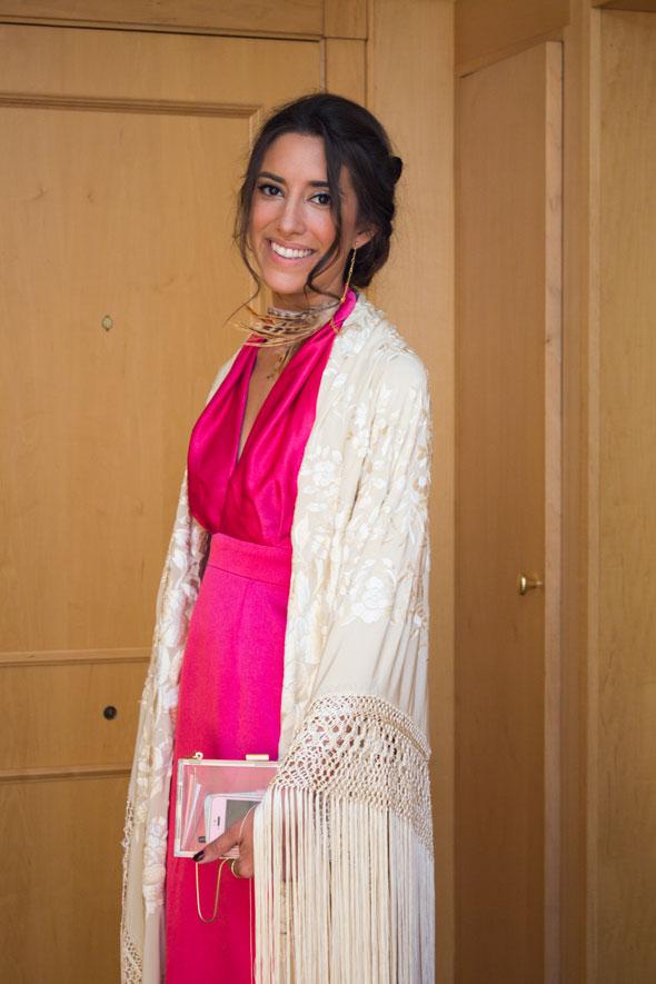 59dd21374c Para mi vestido necesité un metro y medio de tela y un metro de forro de  rayón rosa (4