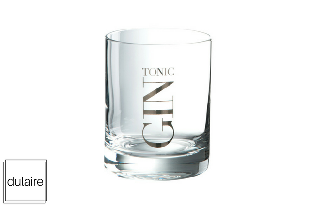 Gin tonic glas Dulaire