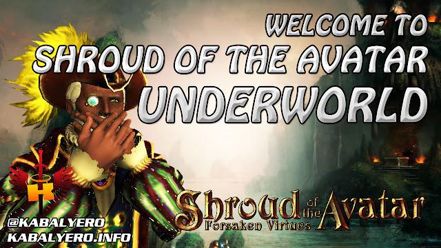 Welcome To Shroud of the Avatar Underworld... LOL!