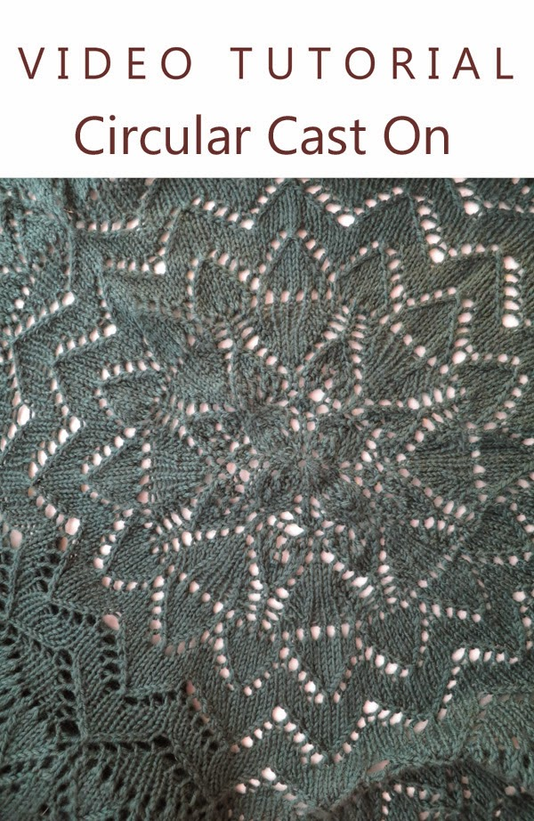 Knitting Tutorial Cast On : Knitting like crazy tutorial circular cast on