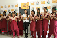 Actress Priya Anand with the Students of Shiksha Movement Event .COM 0018.jpg