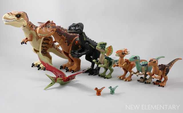 Lego Pteranodon Animal // Dinosaur Tan