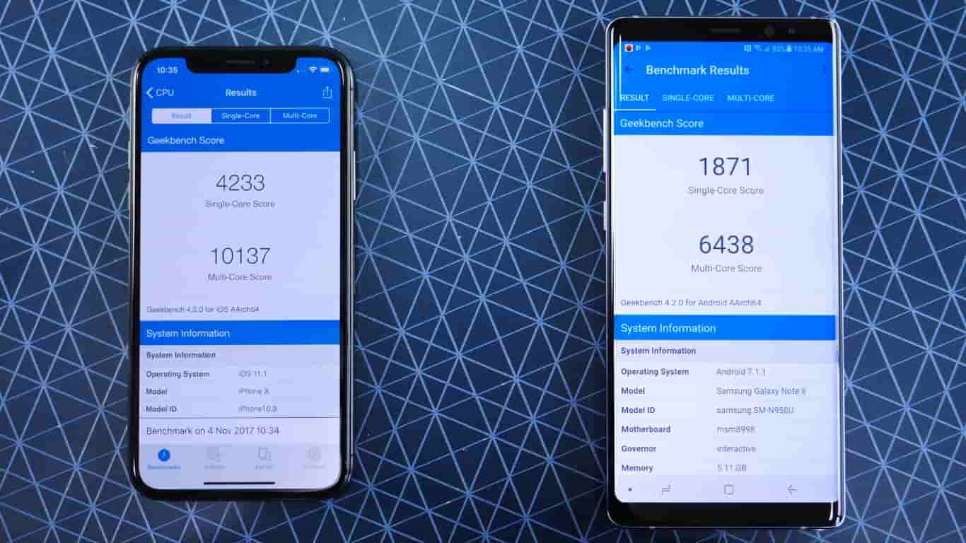 Vic Myster: Check out Speed Test Comparison Between iPhone X