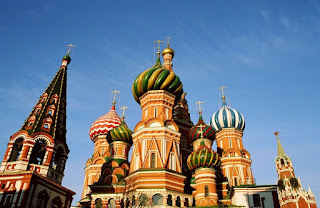 The Cathedral of Vasily the Blessed; Moscow, Russia