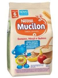 Lançamento Cereal Infantil Mucilon Zero Adição de Açúcar Quinoa
