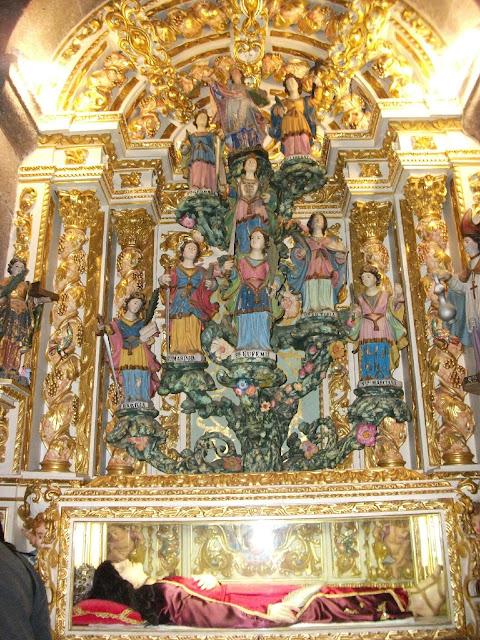 Image result for la santa quiteria  martirio
