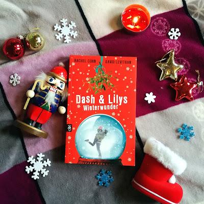 Cover von Dash und Lilys Winterwunder by David Levithan
