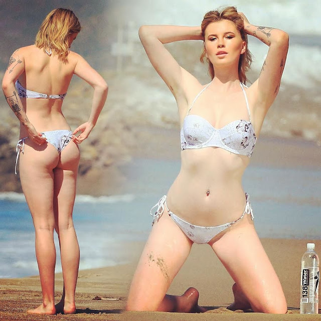 Ireland Baldwin - 138 Water Photoshoot in Malibu