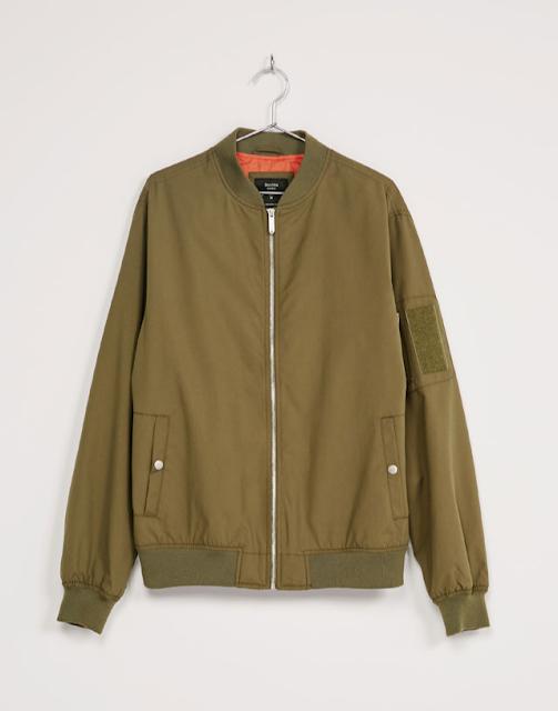 Bomber jacket from Bershka