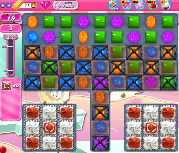 Candy Crush Saga 1831