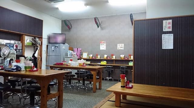 そば処 玉家 前田店の店内の写真