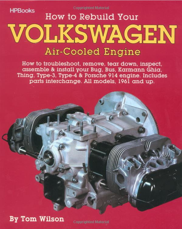 The Volkswagon Vanagon: Book Review: How to Rebuild Volkswagen Air