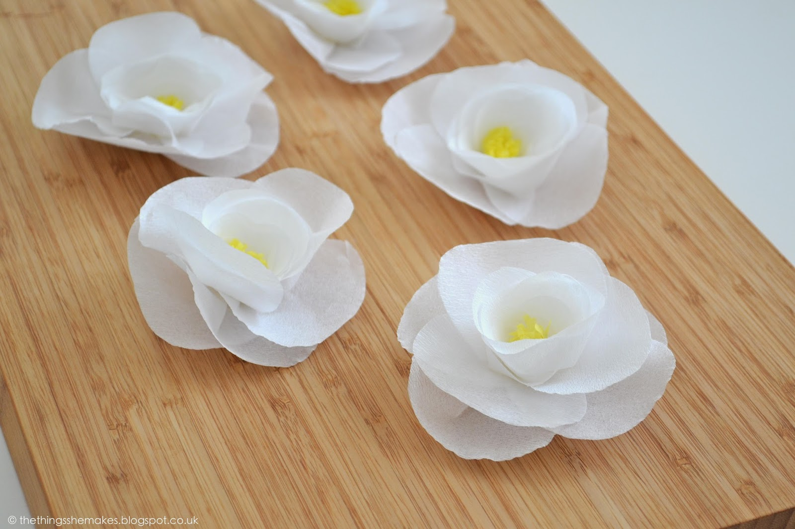 How To Make Crepe Paper Flowers The Things She Makes