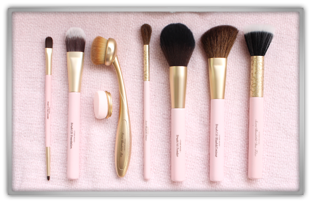 Etude House My Beauty Tool Brush Collection makeup brushes haul review beauty blogger blog brush face 110 120 121 130 140 150 160