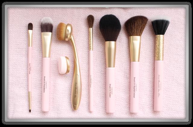 Etude house makeup brush set