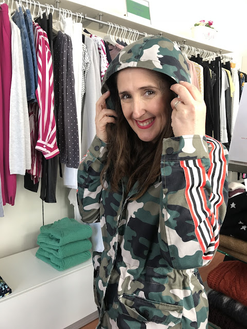 casaco sporty/army na Shanna Boutique
