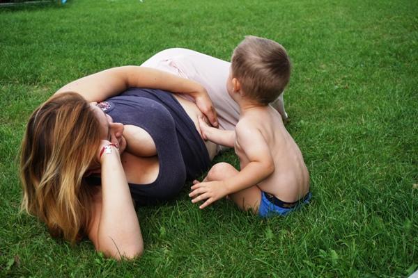 mama, dzieci, trzecia ciąża
