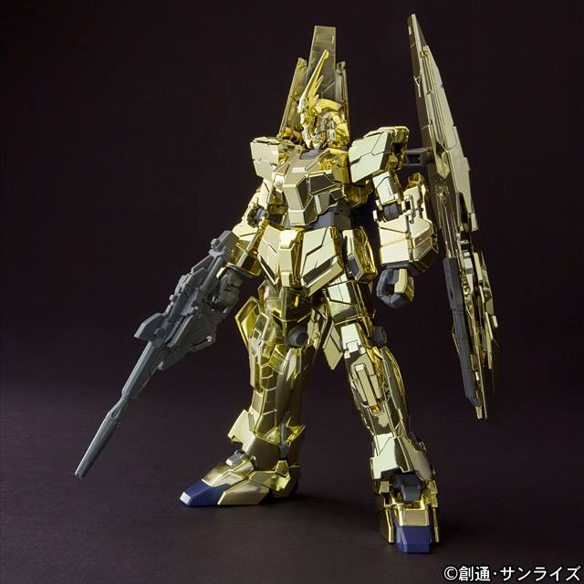 HGUC 1/144 Unicorn Gundam 03 Phenex [Unicorn Mode] Gold Plated - Release Info