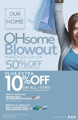 Our Home Blowout sale