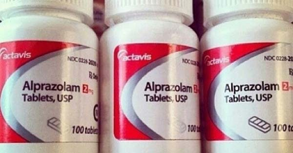 alprazolam for pain