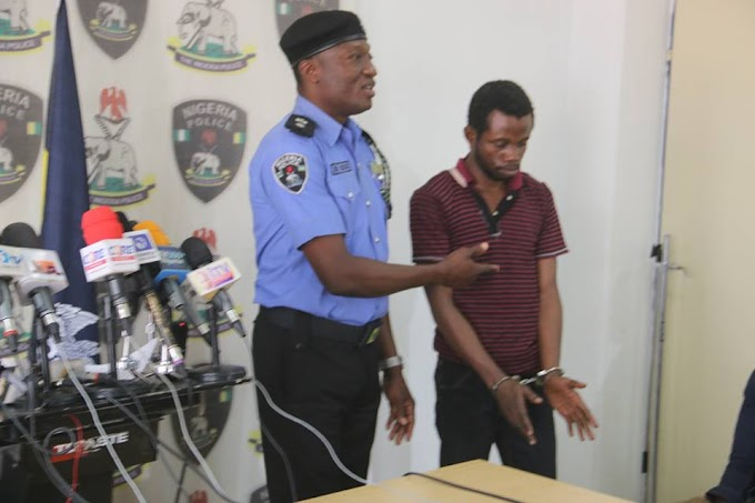 News In Pictures: See The Notorious Armed Robbers Caught And Paraded By The Police