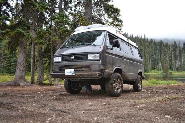 Used Rvs 4wd Westy Syncro Off Road Camper For Sale By Owner