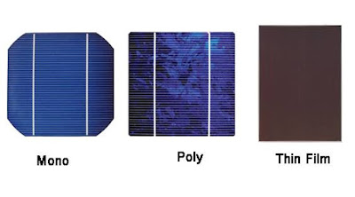 الدرس السادس: أنواع الخلايا الشمسية المستخدمة في أنظمة إنارة الشوارع