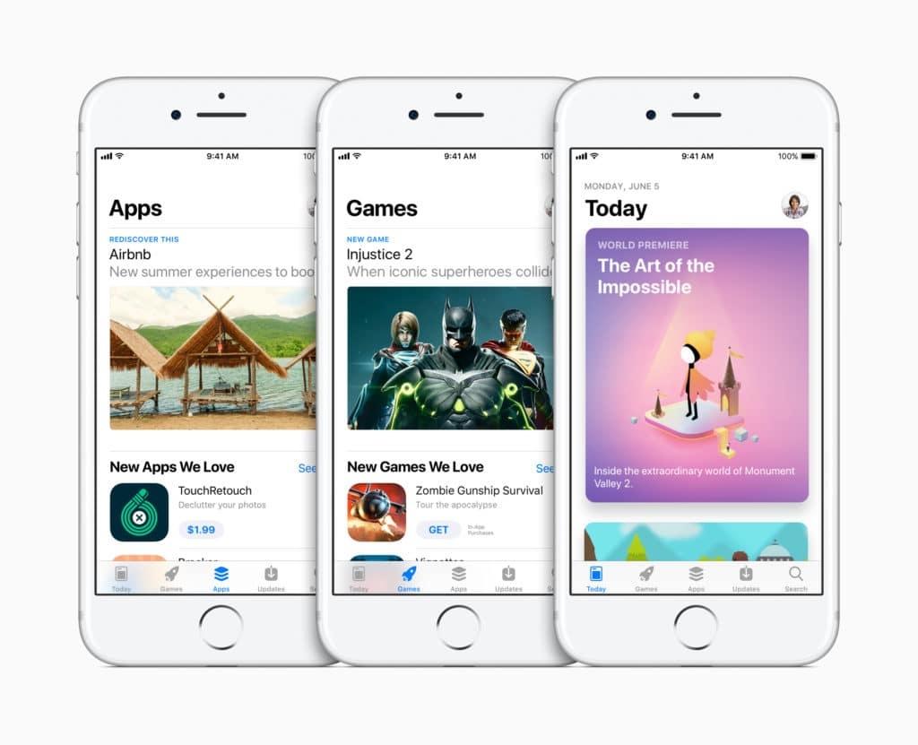 AppStore Baru di iOS 11