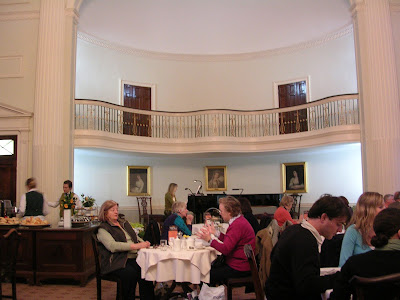 High Tea, Pump Room, Bath, England