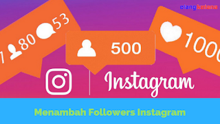 Instagram atau biasa disingkat IG merupakan sebuah aplikasi berbagi foto yang mecukupkan p Tutorial Menambah Followers Instagram Gampang