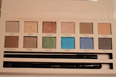 Review of the Land Down Under summer eye shadow palette