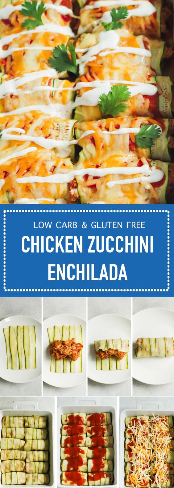Chicken Zucchini Enchilada