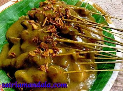 Jenis - Jenis Sate Di Indonesia