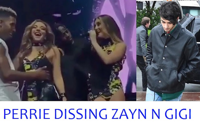 Perrie Edwards hilariously dissing Zayn Malik and Gigi in Little Mix's 'Shout Out to my Ex' performance