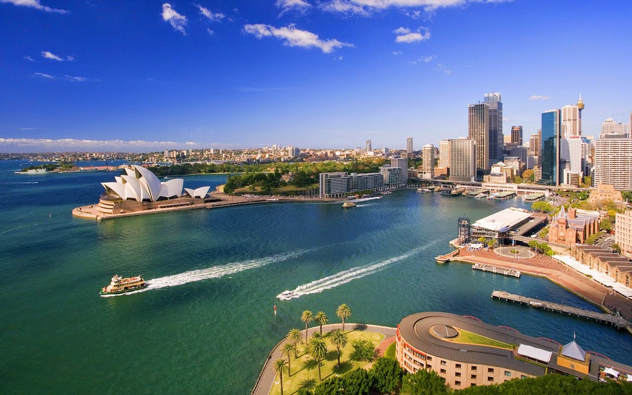 Fare un giro in barca nel porto di Sydney