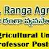 77 Teaching Posts of Associate,Assistant Professor Posts Recruitment 2017 In ANGRAU