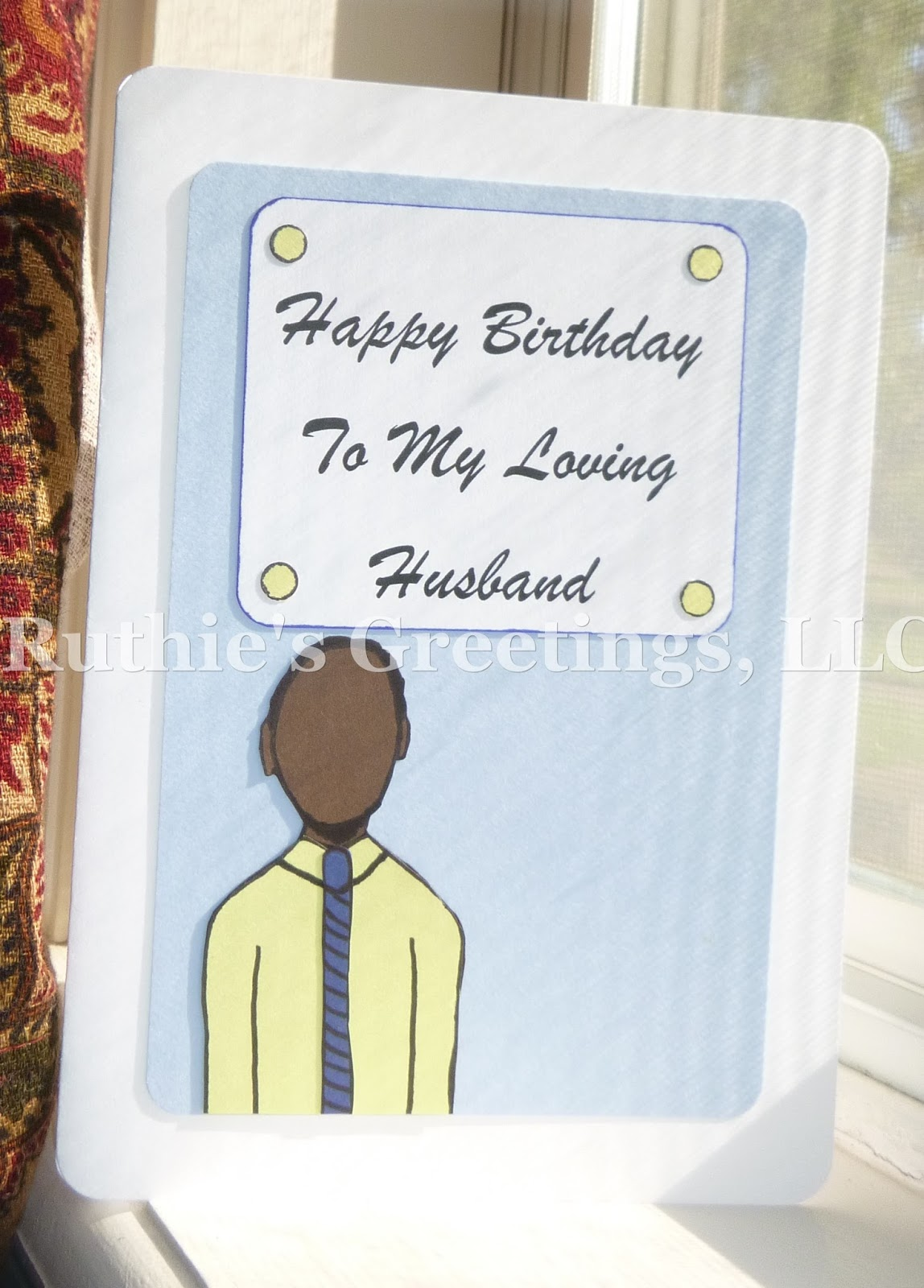 New african american husband birthday cards happy birthday husband card available on etsy kristyandbryce Images