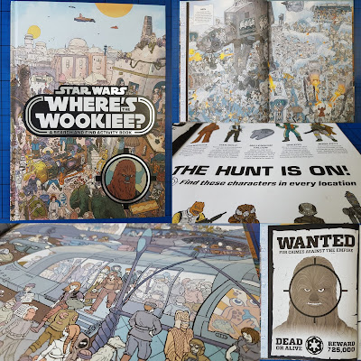 Egmont Books Where's Wookiee? book review