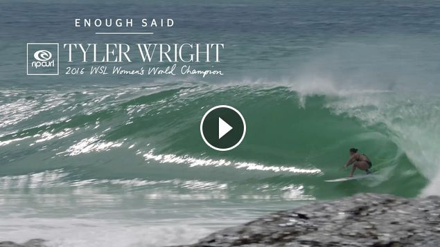 Tyler Wright Enough Said Snapper Rocks March 8 2017