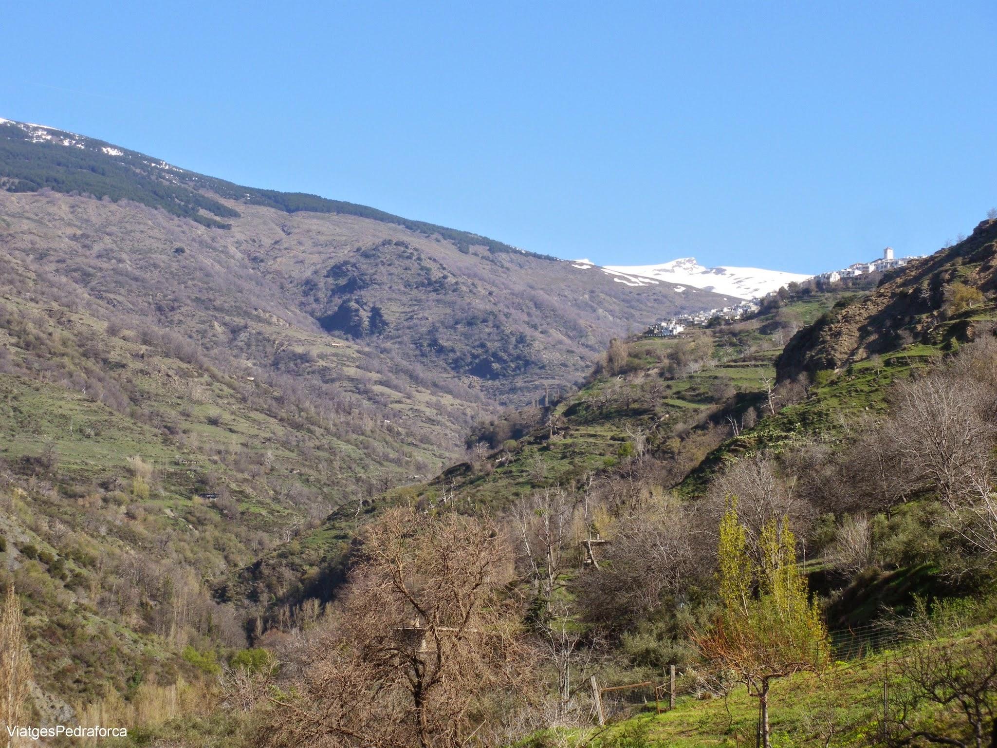Alpujarra Granadina Barranco del Poqueira Andalucia Sierra Nevada