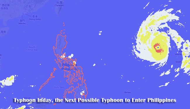 Typhoon Inday, the Next Possible Typhoon to Enter Philippines After #HenryPH