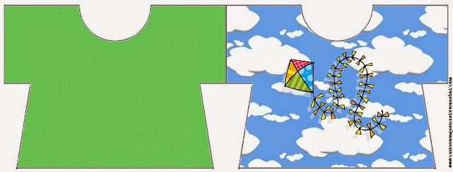 Kit with Kite Free Printable Invitations.