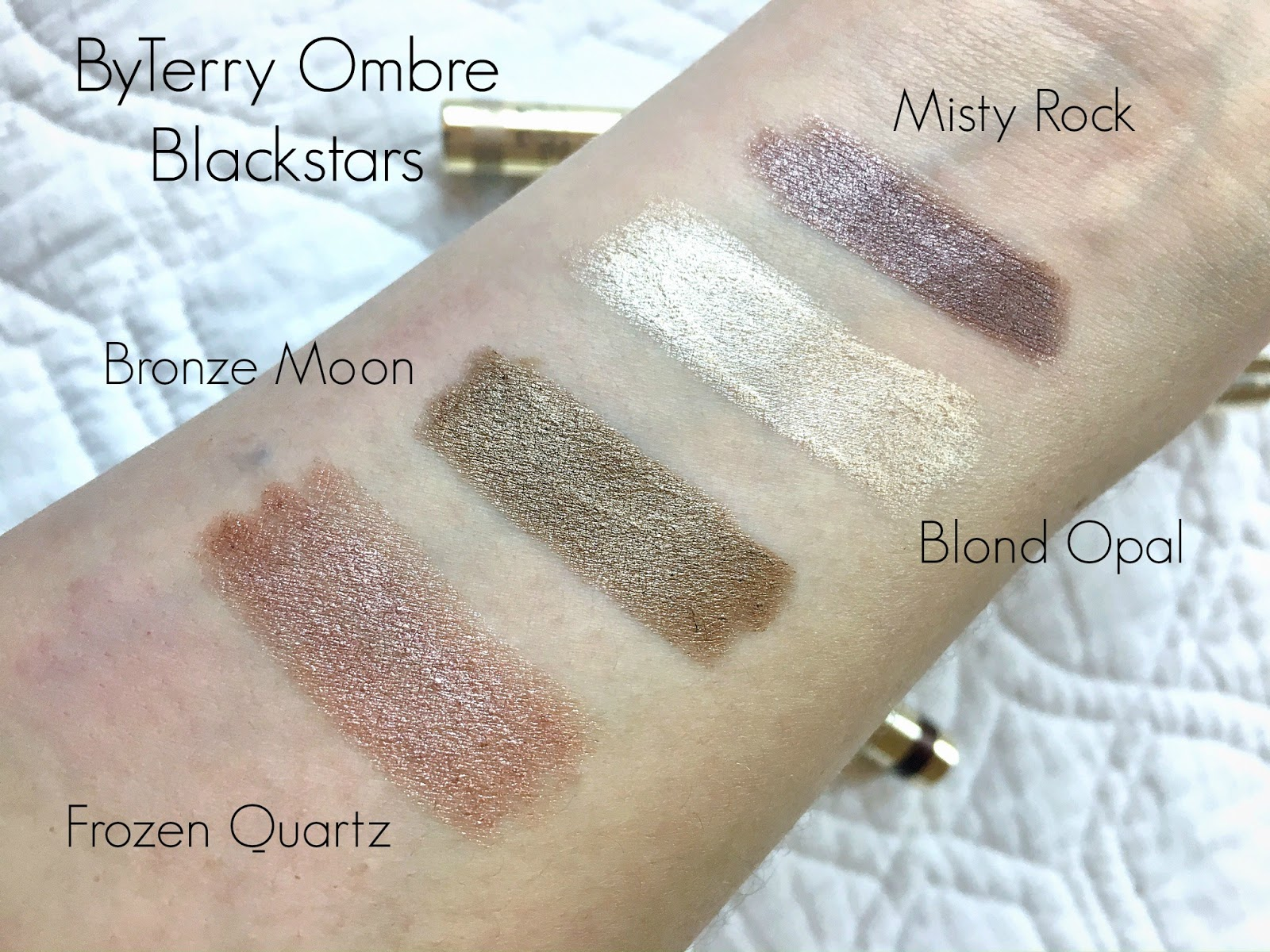 ByTerry Ombre Blackstar Swatches