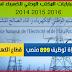 أمثلة لمبارايات المكتب الوطني للكهرباء(ONE) لسنوات 2014,2015 و 2016