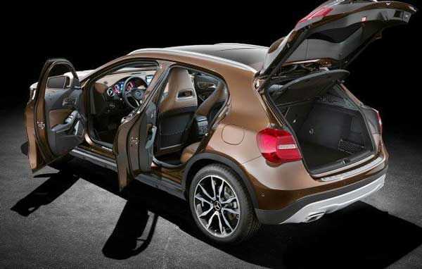 2016 Mercedes Benz GLA250 unveiled specs, feature