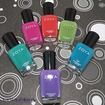 Zoya Island Fun | Kat Stays Polished