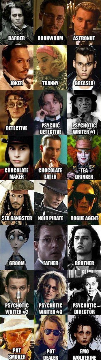 Johnny Depp - Amazing man!