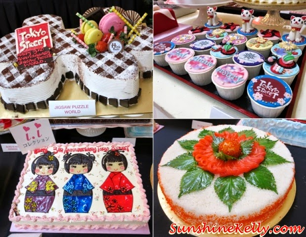 special birthday cake, unique birthday cake, japan birthday cake, tokyo cake, Tokyo Street 3rd Anniversary Sweetest Celebration, tokyo street, japan, pavilion kl, kuala lumpur, sweetest celebration, japan culture, Kocyou No Mai, Yosakoi Bushi, Kagami Biraki