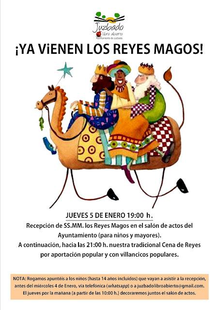 Juzbado, Reyes magos, Salamanca, 2017