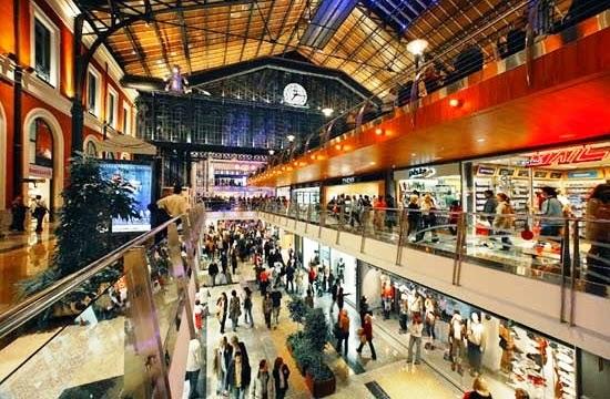 Shopping Príncipe Pío Madri Compras